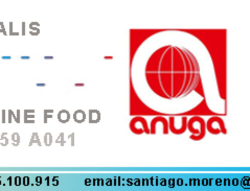 We are going to attend Anuga one more time !!